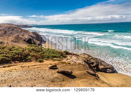 La Pared Volcanic Beach - Fuerteventura Canary Islands Spain