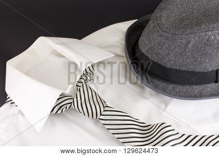 Hat Tie And Shirt