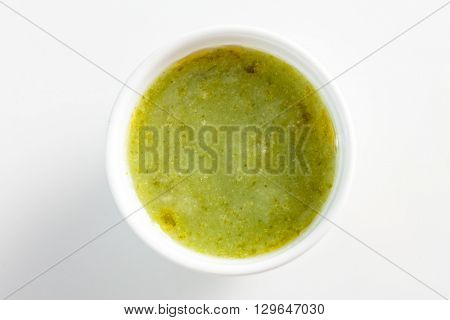 green sauce dip