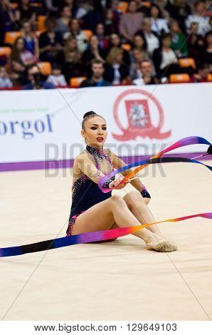 Svetlana Rudenko, Kyrgyzstan. Ribbon