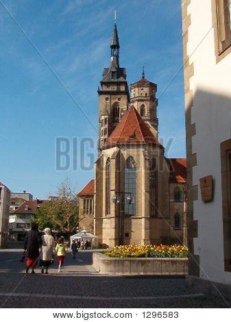 Stiftskirche In Stuttgart, Germany