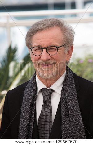 Steven Spielberg  at the photocall for 'The BFG (Le Bon Gros Geant - Le BGG)' , at the 69th Festival de Cannes.May 14, 2016  Cannes, France