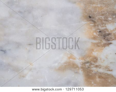 White reala marble texture background Close up