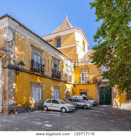 Amarelo Palace in Portalegre city, Portugal.