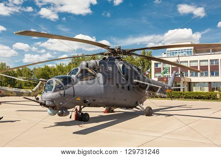 Mi-24 Russian Military Helicopters