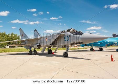 Mig-31 Bm Is A Supersonic Interceptor Aircraft