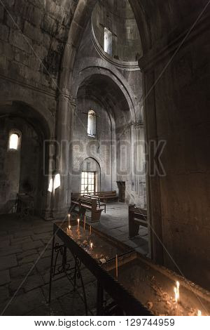 Gosh, Armenia - May 02: Goshavank Monaster May 02 , 2016. Goshavank Complex Was Built In 12-13Th Cen