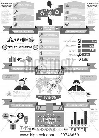 INFOGRAPHIC DEMOGRAPHICS BUSINESS for web and other