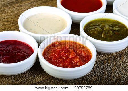 Sauces Assortie