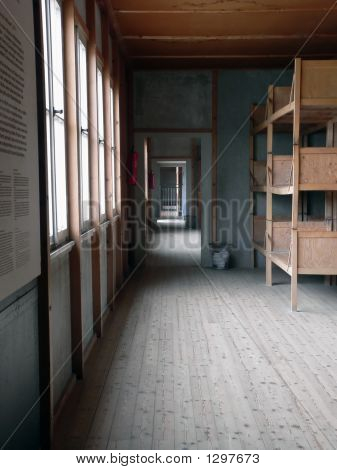 Dormitory Inside The Concentration Camp Of Dachau