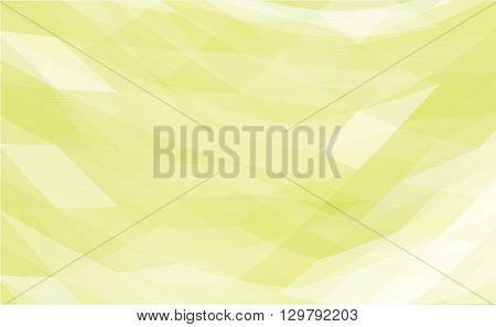 green abstract polygonal background - vector illustration