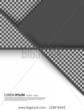 eps10 vector geometric annual report leaflet brochure blank space, abstract design template