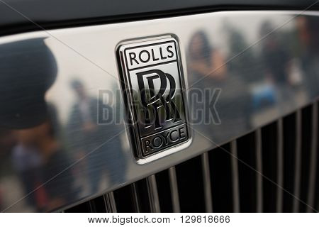 Rolls Royce Phantom Emblem