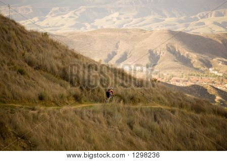 Mountain Cyclist