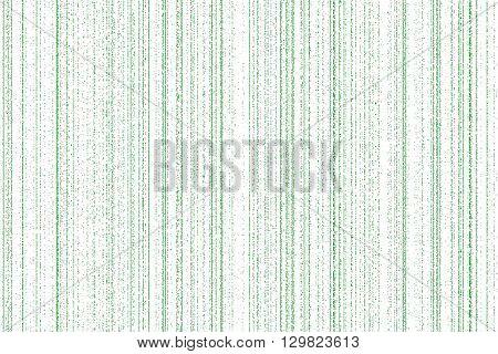 light green digital codes background in matrix style on white background