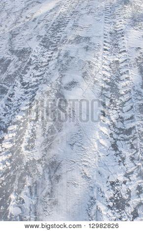 Slippery Ice Road