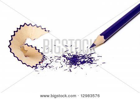 Dark Blue Pencil