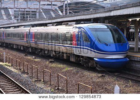 Kyoto Station Train