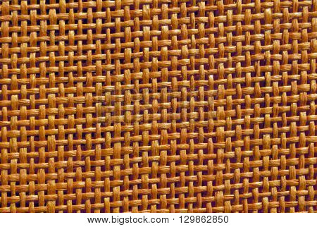 Abstract Orange Braided Texture