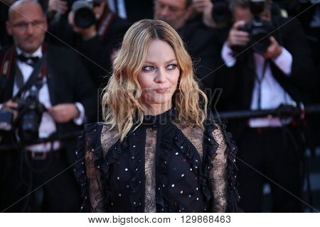 Vanessa Chantal Paradis attends the screening of 'From The Land Of The Moon (Mal De Pierres)' at the annual 69th Cannes Film Festival at Palais des Festivals on May 15, 2016 in Cannes, France.