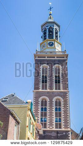 Tower Nieuwe Toren In The Historical City Kampen