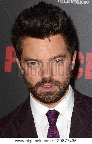 LOS ANGELES - MAY 14:  Dominic Cooper at the Preacher Premiere Screening at the Regal 14 Theaters on May 14, 2016 in Los Angeles, CA