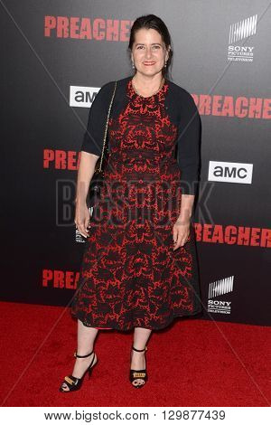 LOS ANGELES - MAY 14:  Karyn Wagner at the Preacher Premiere Screening at the Regal 14 Theaters on May 14, 2016 in Los Angeles, CA