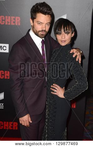 LOS ANGELES - MAY 14:  Dominic Cooper, Ruth Negga at the Preacher Premiere Screening at the Regal 14 Theaters on May 14, 2016 in Los Angeles, CA