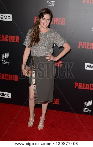 LOS ANGELES - MAY 14:  Jamie Anne Allman at the Preacher Premiere Screening at the Regal 14 Theaters on May 14, 2016 in Los Angeles, CA