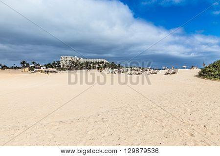Hotel On Corralejo Beach - Corralejo Fuerteventura Canary Islands Spain