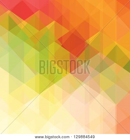 Colorful geometric background with triangular polygons.Vector illustration.