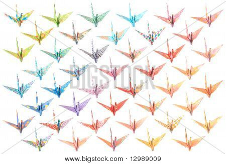 Origami Cranes Pattern