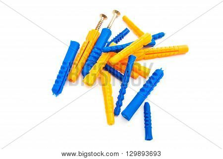 Colorful Dowels And Screws