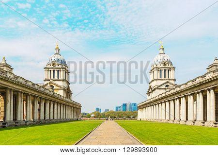 The University of Greenwich in London UK