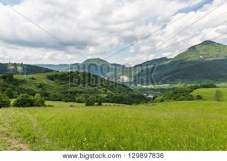Nature In Cernova Village Near Ruzomberok In Slovakia