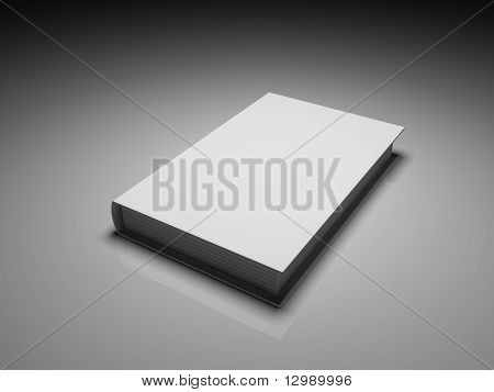Blank White Cover Book