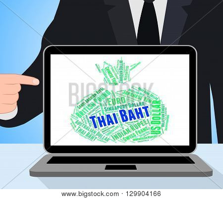 Thai Baht Showing Forex Trading And Thb poster