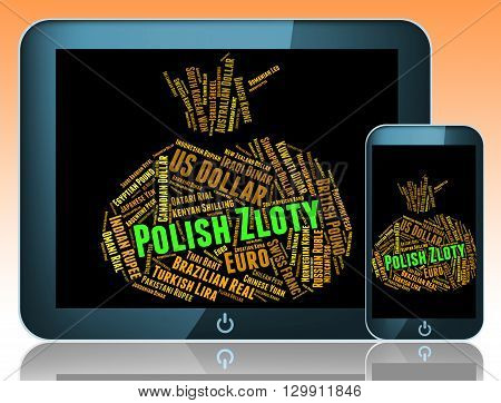 Polish Zloty Means Forex Trading And Currencies