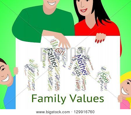 Family Values Shows Blood Relation And Children