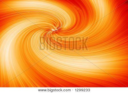 Orange Twirl