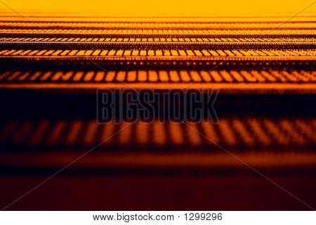 Abstract Orange Texture