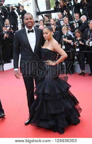 Carmelo Anthony attends the screening of 'Loving' at the annual 69th Cannes Film Festival at Palais des Festivals on May 16, 2016 in Cannes, France.