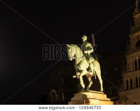 Statue Of Otto Von Bismarck