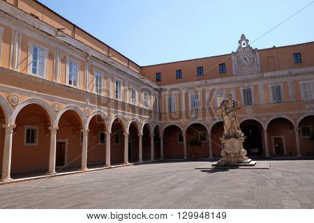 PISA, ITALY - JUNE 06, 2015: Moses, Roman Catholic Archdiocese of Pisa in Italy, on June 06, 2015