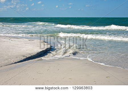 Beautiful Coastline of Anna Maria Island Florida
