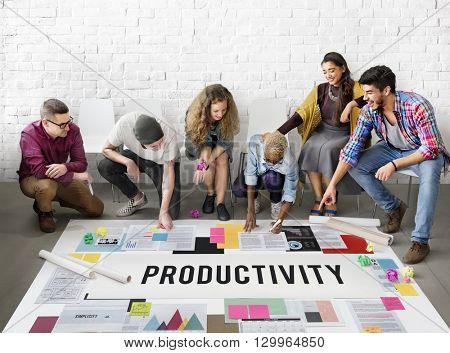 Productivity Effort Implementation Management Concept