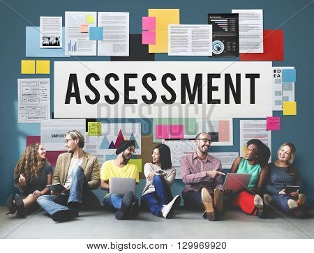 Assessment Audit Analysis Measure Examination Concept