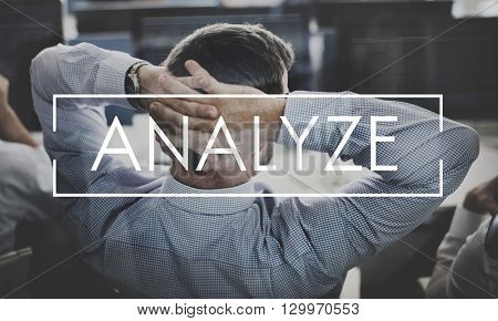 Analyze Assess Information Plan Statistics Concept