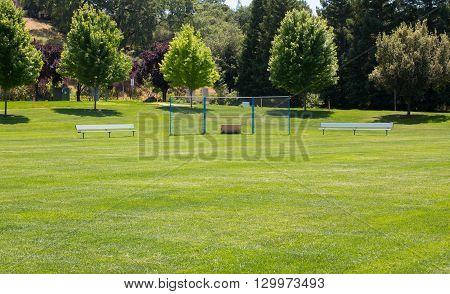 Grass Little League Baseball Field