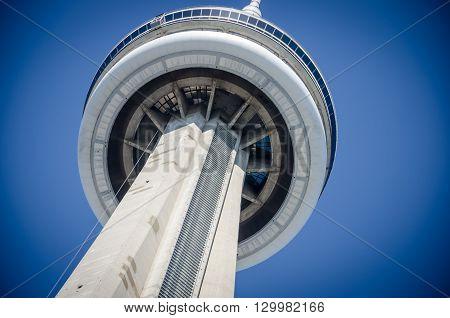 Toronto Cn (canadian National) Tower, Toronto, Ontario